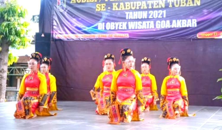 81 Penari Daerah Ikuti Seleksi Duta Tari di Tuban