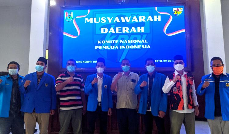 Musda DPD KNPI Tuban, Ketua Terpilih Targetkan Bermitra Dengan Pemkab