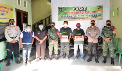 Asistensi ke Wilayah, Kapolres Blitar Kota Berkunjung ke Posko PPKM Mikro Tingkat Kelurahan