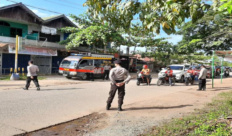 Bandel Tak Gunakan Masker, 4 Warga Sangatta Terciduk Dalam Operasi Yustisi
