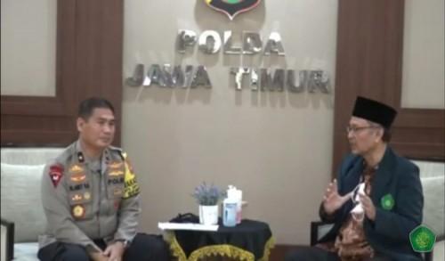 Rektor UIN Malang dan Wakpolda Jatim Bincang Santai Bahas Nasionalisme