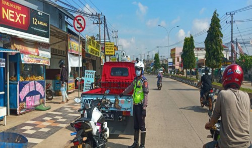 3 Hari Pelaksanaan ETLE Mobile, Satlantas Polres Kutim Identifikasi 24 Pelanggaran Lalin