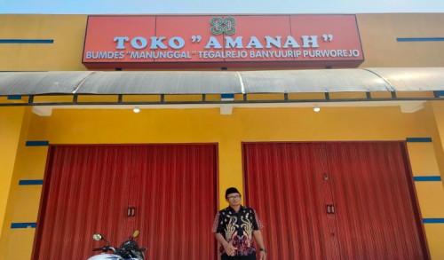 Tingkatkan Perekonomian Masyarakat, Pemdes Tegalrejo Purworejo Bangun BUMDes Manunggal