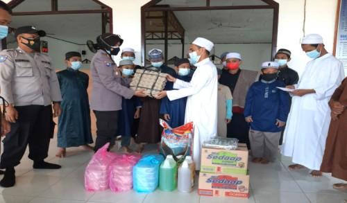 Laksanakan Progul, Satbinmas Polres Kutim Sasar Ponpes Tahfizul Qur'an