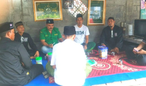 Perkuat Hubungan Emosional, PSHT Silaturahmi ke PC GP Ansor Kencong Jember