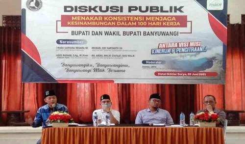 Ketua Demokrat dan PKB Kompak Sebut 100 Hari Kepemimpinan Bupati Banyuwangi Masih Pencitraan