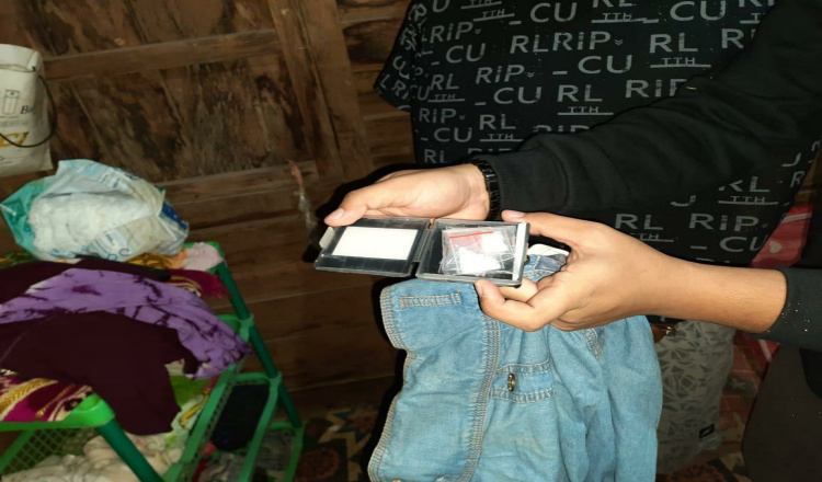 Sembunyikan Sabu dalam Kotak Bor, Warga Sepaso Selatan Kutim Ditangkap