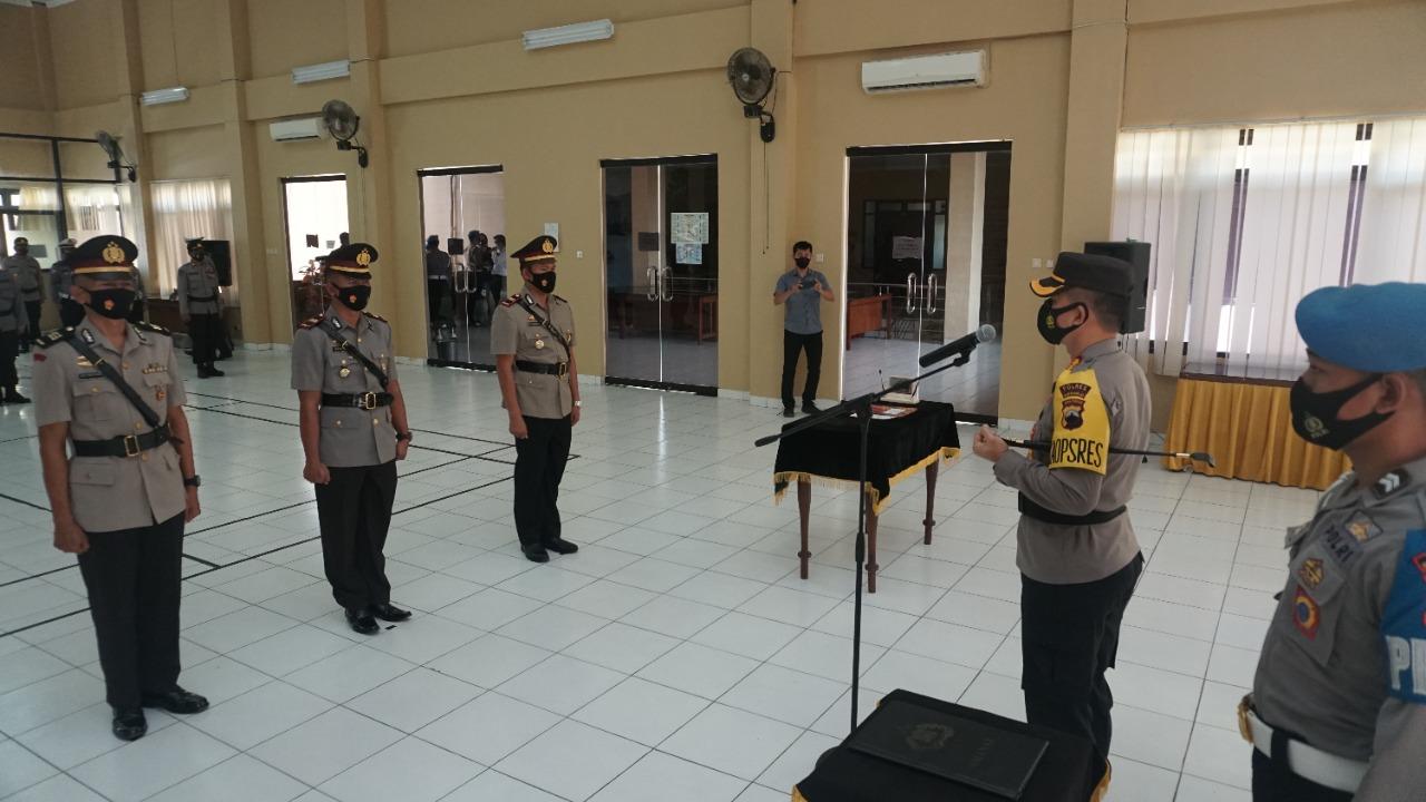 Dua Pejabat Polres Purworejo Diganti