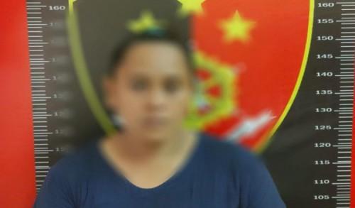 Emak-emak Pengedar Sabu di Kutim Diringkus Polisi