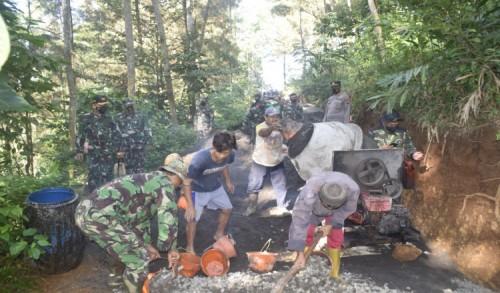 Dandim 0708 Purworejo Pastikan TMMD Sengkuyung Tahap II Selesai Tepat Waktu