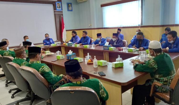 Pengurus PAN Lamongan Minta Nasehat ke Pimpinan Muhammadiyah