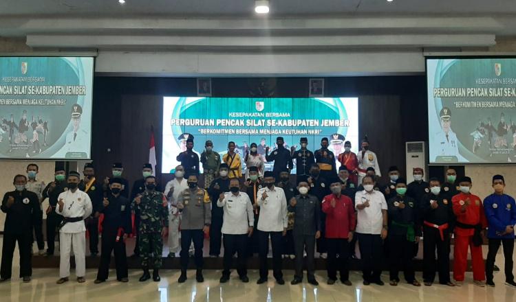 30 Perguruan Silat di Jember, Deklarasi Damai