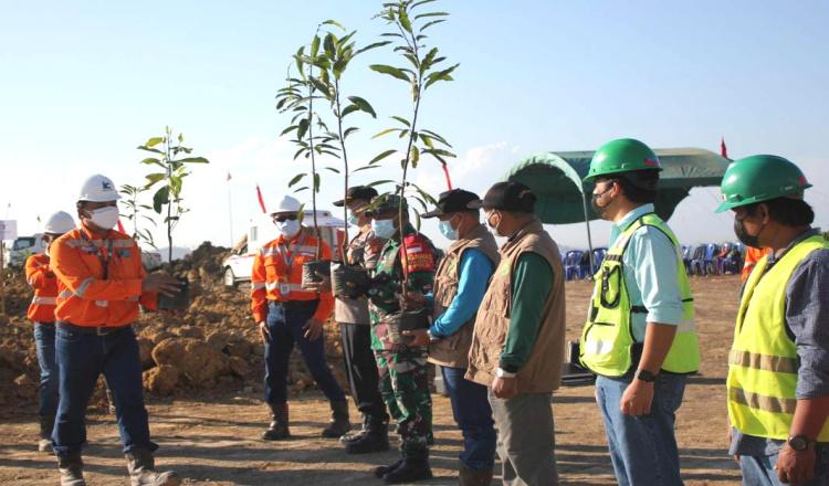 Tanam 1000 Pohon Hingga Manfaatkan Barang Bekas Jadi Pilihan PT Indexim Coalindo Peringati HLH 2021