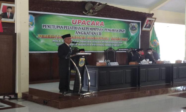 Pasca Lulus PKP, Bupati Bondowoso Ingin ASN Memiliki Kompetensi kepemimpinan Pelayanan