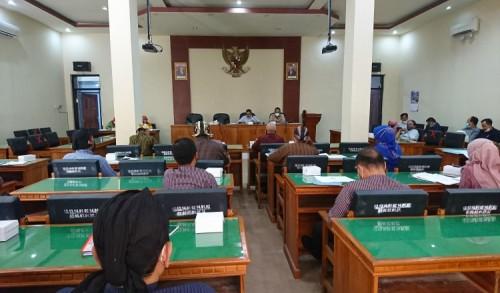 Panggil 10 OPD, Komisi III DPRD Trenggalek Klarifikasi Catatan LHP BPK