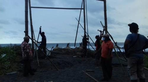 Minimalisir Kecelakaan Laut, SAR Lintas Purworejo Bangun Pos Pantau Mandiri