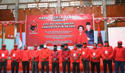 PDIP Puja Target Borong Kursi Legislatif dan Siap Menangkan Kembali Yuni Wonda di Pilkada 2024
