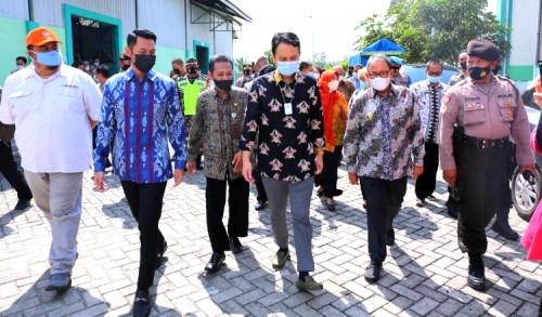 Wamendag RI Kunjungi Tuban, Harap Petani Manfaatkan SRG Sebagai Bank Hasil Panen