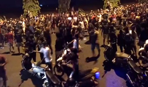 Beredar Video Tawuran Antar Pembalap di Tuban