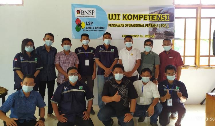 PT Cipta Mandala Indonesia dan PT Andara Sejati Pratama Ikuti Uji Kompetensi POP Pertambangan