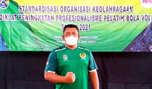 Persatuan Bola Voli Seluruh Indonesia Cabang Tuban Siap Cetak Prestasi
