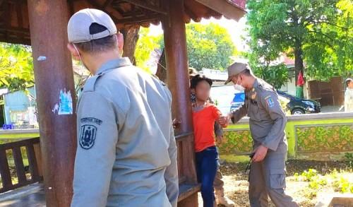 Diduga Dalam Pengaruh Obat-obatan, Gadis Asal Klaten Diamankan Satpol-PP Tuban