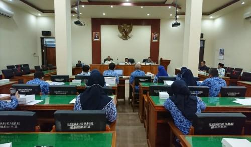 Evaluasi LKPJ Bupati, Komisi II Minta Dinas di Trenggalek Tingkatkan Serapan