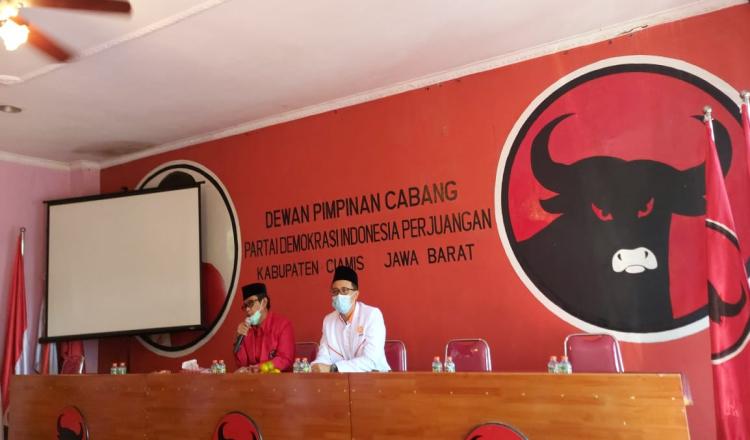 PKS dan PDI-P Ciamis Jalin Silaturahmi