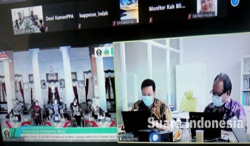 Hadiri Verifikasi, Wabup Rahmat Berharap Kabupaten Blitar Mendapat Predikat KLA Nindya