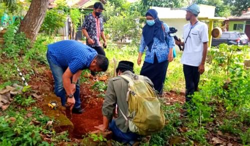 BPCB Jatim Kunjungi Temuan Situs Atas Angin di Tuban