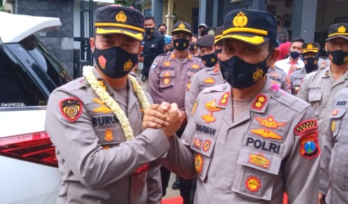 AKBP Ruruh Pamit, Kapolres Tuban Digantikan AKBP Darman