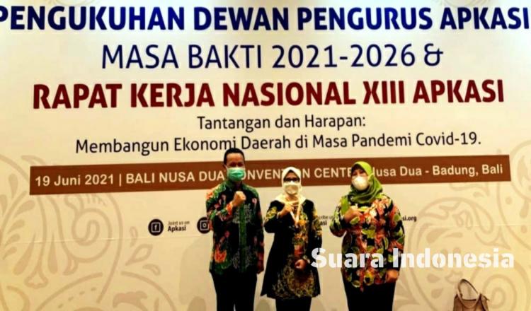 Dinilai Bagus, Bupati Blitar Rini Syarifah Masuk dalam Jajaran Dewan Pengurus APKASI Masa Bakti 2021-2026