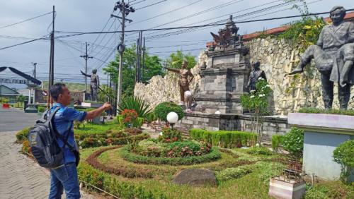 Renovasi Monumem Perjuangan Tentara Pelajar Purworejo Tuai Tanggapan Masyarakat