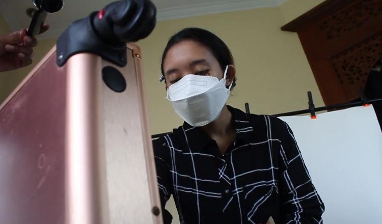 Raup Pendapatan Lewat Art Make Up di Masa Pembatasan Sosial Pandemi Covid-19