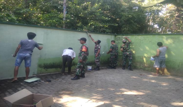 Program Karya Bakti Kodim 0708 Purworejo Jadi Kemanunggalan TNI dengan Rakyat