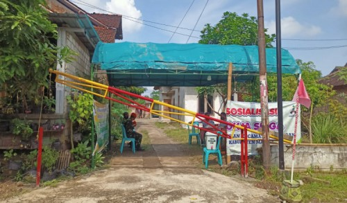 10 Warganya Positif Covid-19, Pemdes Sewulan Madiun Lockdown Satu Kampung