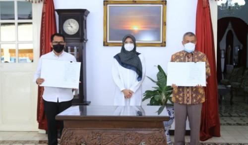 Pemkab Probolinggo Digelontor Ratusan Ribu Masker Untuk Guru dan Siswa SD