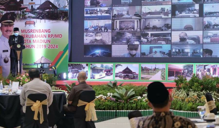 Fokus Pembangunan, Wali Kota Buka Musrenbang Perubahan RPJMD 2019-2024