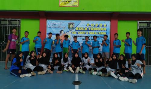 Dua Kali Juara Popda, SMP Negeri 17 Purworejo Jadi Barometer Cabor Bola Tangan