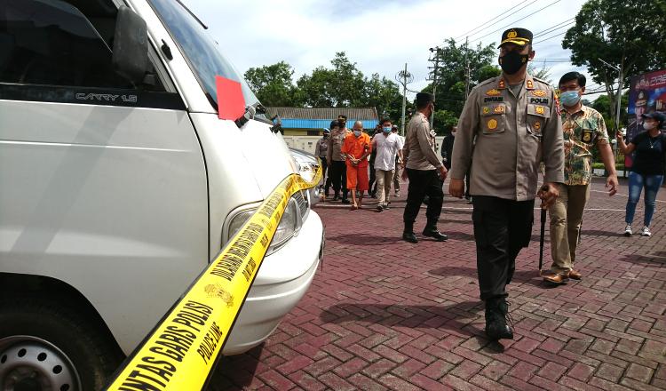 Residivis Curat Antar Provinsi Berhasil Dibekuk Satreskrim Polres Trenggalek