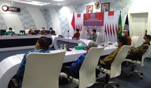 Kepala BNN Trenggalek Ikuti Puncak Peringatan HANI 2021