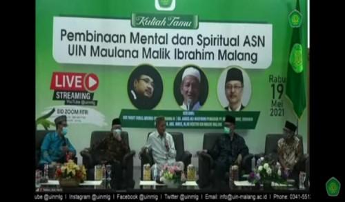 Tingkatkan Kualitas SDM, UIN Malang Gelar Pembinaan Mental dan Spiritual