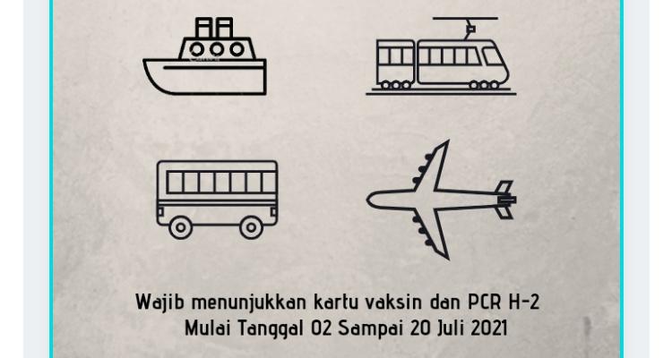 Aturan Bagi Pengemudi dan Penumpang di Pulau Jawa dan Bali