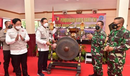 TNI di Lamongan Gelar Karya Bakti