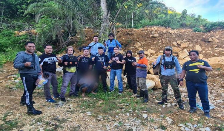 Sembunyi di Gunung, Tim Macan Polres Kutim Terkam Terduga Pelaku Penganiayaan di Kaliorang