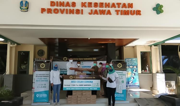 Upaya Victoria Care Indonesia Bantu Dinkes Jatim