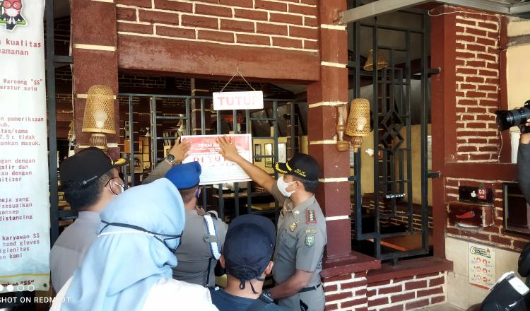 Langgar Instruksi Wali Kota, Dua Rumah Makan di Madiun Ditutup