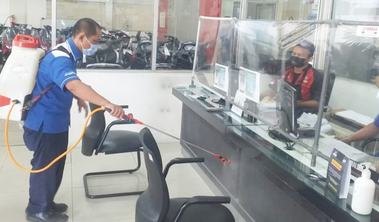 PPKM Darurat, Yamaha Jatim Berlakukan Aturan Baru