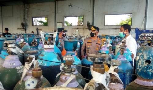Langka di Sejumlah Daerah, Pasokan Tabung Oksigen Aman di Probolinggo