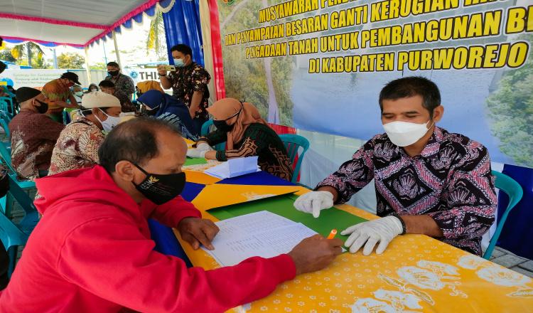 Warga Terdampak Pembangunan Bendungan Bener Purworejo Kembali Musyawarah